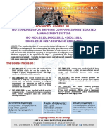 ADVANCED COURSE IN ISO STANDARDS FOR SHIPPING COMPANIES