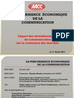 Presentation Du 1er Fevrier 2011