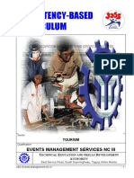 CBC-Event Management Services NC III_Modules of Intruction Common