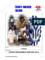 CBC-Event Management Services NC III_Module of Instruction_Basic