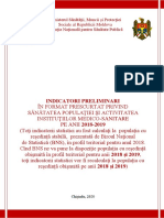 Indicatori Preliminari Msmps 2019