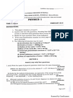 physics paper 1 iringa