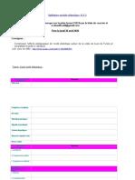 consigne projet didactique du FLE 2