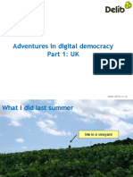 Adventures in digital democracy