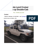 LandCruiser pick up