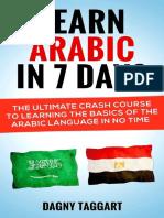 Arabic Learn Arabic In 7 DAYS