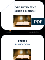 FATAP - Teologia Sistemática I