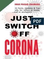 Just Switch Off CORONA_ Covid-1 - Dr. Maheshwar Prasad Chaurasia