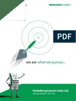 HeidelbergCement Annual Report 2015-16