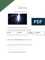 Assignment III - Biology pdf