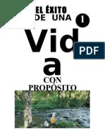EXITO DE UNA VIDA CON PROPOSITO