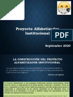Proyecto Alfabetizador   Institucional.pptx