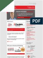 HostaliaNews de Octubre 2010. Dominios, alojamiento web, tiendas online y servidores dedicados.