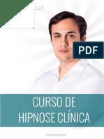 Apostila Curso de Hipnose Clínica compotamental