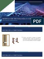Modulo de tecnología y Computación