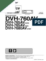dvh-7680av (Som Automotivo)