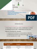 AULA TOXICOLOGIA DE SUBSTANCIAS NÃO NUTRITIVAS EM ALIMENTOS (1).pptx