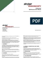 Styker Scope Manual
