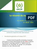Le résumé du rapport de stage (ocp).pptx