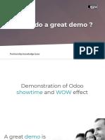 Demo techniques