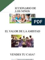 EL DICCIONARIO DE LOS NIÑOS