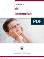 A Parent's Guide to French Immersion