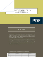 COMPONENTES DE LA ALBAÑILERÍA - ppt