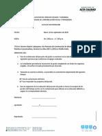 Formato Acta de sustentacion Modalidad de Grado