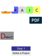 Six Sigma- DMAIC
