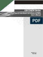 CBV734EW User's Manual