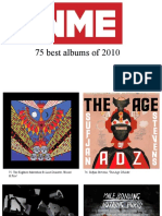 75 best albums of 2010 NME