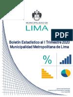5. Boletín Estadístico al I Trimestre de 2020 MML (Autoguardado)