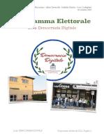 programma elettorale 2021