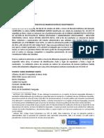 ENTREVISTA DE MANIFESTACIÓN DE DESISTIMIENRTO 846452 ISABEL MANRIQUE GARCÍA