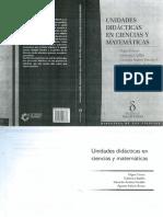 Unidades didácticas en ciencias y matemáticas
