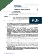 INFORME 05-2020-YAG (REMITO ABSOLUCION DE CONSULTAS, PRONUNCIAMIENTO Y PLANOS POR PARTE DEL PROYECTISTA CONTRATISTA) 22 de setiembre del 2020 OK