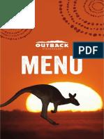 outback cardapio menu