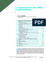 Moulage par Compression des SMC Polyesters et Phénoliques