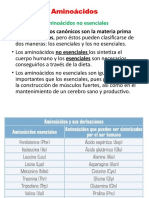PPT 2 Proteínas, aminoácidos funciones