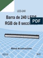Barra de LED-240-instr