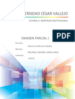 Examen Parcial I - Tutoria II - Melendez Medina Gandij Yamil