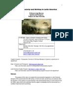 Litertaura y ecologia syllabus