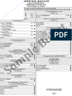 Sample Ballot 2020