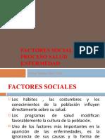 Factores sociales en psicologia