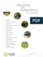 Repertoire implantation