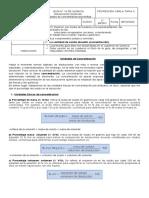 GUÍA  QUÍMICA 2° MEDIO UNIDADES DE CONCENTRACIÓN DISOLUCIONES QUÍMICAS