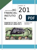 non banking final