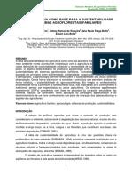 EMBRAPA  - A AGROECOLOGIA COMO BASE PARA A SUSTENTABILIDADE DE SISTEMAS AGROFLORESTAIS FAMILIARES