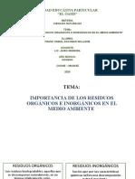 RESIDUOS ORGANICOS E INORGÁNICOS.pptx