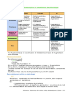 Item n° 176 - Prescription et surveillance des diurétique